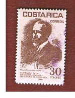 COSTA RICA  -  SG 1391  -  1986 M. F.  ACUNA  -  USED ° - Costa Rica