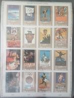 GL - UMM AL-QIWAIN 1972 Mi. 1098B-1113B History Of Olympic Games DELUXE SHEET (Cartoon) IMPERFORATED - MNH - Umm Al-Qiwain