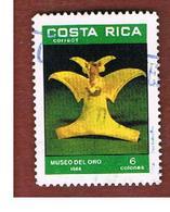 COSTA RICA  -  SG 1429  -  1986  GOLD ARTEFACT   -  USED ° - Costa Rica
