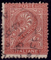 Italy, 1865, Numeral, 2c, Sc#25, Used - Used