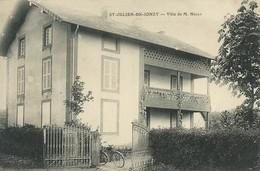 71)  SAINT  JULIEN  De  JONZY  - Villa De M. Nigay - France