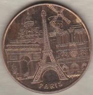75 . Les 5 Monuments De  Paris 2012 - Monnaie De Paris