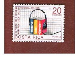 COSTA RICA  -  SG 1474  -  1988 RADIO BROADCASTS  -  USED ° - Costa Rica