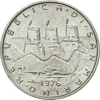 Monnaie, San Marino, 5 Lire, 1976, Rome, TTB, Aluminium, KM:53 - Saint-Marin