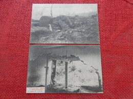 LEUVEN - LOUVAIN -   Lot De 2 Cartes : Cataclysme à Louvain En 1906 - WILSELE : Pont Emporté, Maison Détruite - Leuven