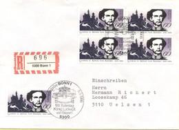 GERMANIA - GERMANY - Deutschland - ALLEMAGNE - 1986 - 100. Todestag König Ludwig II. Von Bayern - FDC - Bonn - Einschrei - [7] Repubblica Federale