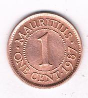 1 CENT 1987 MAURTIUS /5707/ - Mauritius