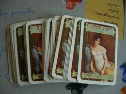 Cartes à Jouer: 53 Cartes (un Seul Joker). Madame Récamier (Cie Assurances Générales Sur La Vie Paris) - 54 Cards