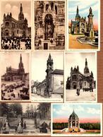 Lot De 8 CPA Sur Sainte-Anne D'Auray & Auray Cartes Anciennes, Dos Divisés Pour La Plupart - Voir Tous Les Scans. - Sainte Anne D'Auray