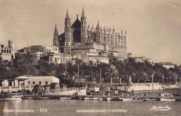 ESPAGNE,SPAIN,ESPANA,isla S Baleares,PALMA DE MALLORCA,MAJORQUE,ile Des Baléares,carte Photo,plis - Palma De Mallorca