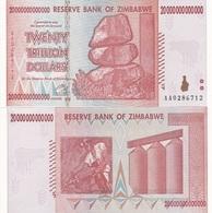 Zimbabwe - 20000000000000 Dollars 2008 / 20 Trillion UNC Ukr-OP - Zimbabwe