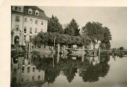 PHoto Prise à Lindau Allemagne Le 23 Mai 1945 Lac De Constance Bodensee - Lieux