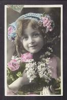 CPA Enfant Fillette Très élégante - Pretty Girl - Photo - Portraits