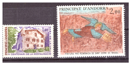 ANDORRA FR. -  1980 - DUE VALORI DEL PERIODO.  - MNH** - Andorra Francese
