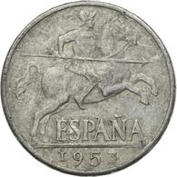 Monnaie, Espagne, 10 Centimos, 1953, TB, Aluminium, KM:766 - [ 4] 1939-1947 : Gouv. Nationaliste