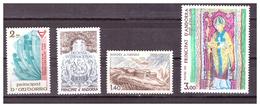 ANDORRA FR. -  1981 - ALCUNI VALORI DEL PERIODO.  - MNH** - Andorra Francese