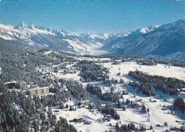 SUISSE,valais,CRANS SUR SIERRE,prés D'icogne,lens Montana,station,ski De Fond - VS Valais