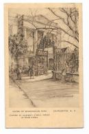 GATES OF WASHINGTON - CHARLESTON S.C. - DRAWN BY ELIZABETH O'NEILL - VIAGGIATA FP - Charleston