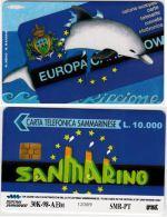 SCHEDA TELEFONICA USATARSM 34 ECS 98 - San Marino