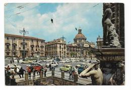 CATANIA - FONTANA DELL'AMENANO IN PIAZZA DUOMO -  VIAGGIATA FG - Catania