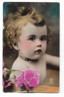 BAMBINA CON TRUCCO  PRIMO PIANO DEL 1929  - VIAGGIATA FP - Enfants