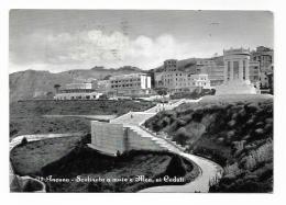 ANCONA - SCALINATA A MARE E MONUM. AI CADUTI - VIAGGIATA FG - Ancona