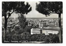 RIMINI - PANORAMA DAL COLLE DI COVIGNANO - AFFRANCATA   FG - Rimini