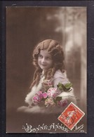 CPA Enfant Fillette élégante Coiffée D'anglaises - Pretty Girl - Photo - Portraits