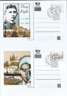 CDV C Czech Republic Franz Kafka Anniversary 2013 - Ecrivains