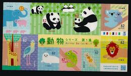 Protection Des Animaux En Voie Extinction, Nouveau Carnet 2018 De 10 Timbres Neufs **  (Panda Géant) - Ours