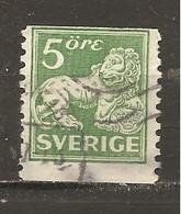Suecia-Sweden Nº Yvert  123 (usado) (o) - Gebruikt