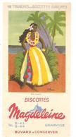 Buvard N°2 Tahiti Magdeleine Biscottes GRANVILLE - Zwieback