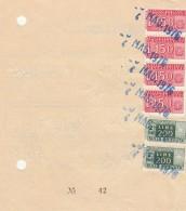 RICEVUTA 1976 PACCHI POSTALI CON 4X150 PACCHI IN CONCESSIONE +2X200 (Z1126 - 4. 1944-45 Repubblica Sociale