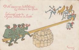 CARTOLINA NON VIAGGIATA BANCA ITALIANA DI SCONTO (Z1145 - Pubblicitari