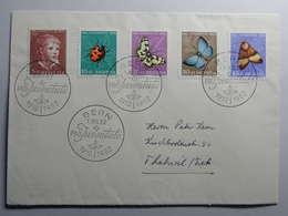 1952, Pro Juventute Serie Auf Sauberem FDC - Storia Postale