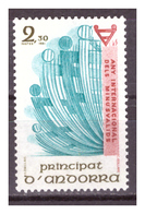 ANDORRA FR. -  1981 - ANNO INTERNAZIONALE DEI DISABILI.  - MNH** - French Andorra
