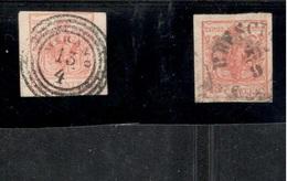 Lombardy-Venetia1850:Michel3x,3y  Used - Lombardije-Venetië