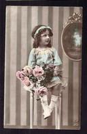 CPA Enfant Fillette élégante - Pretty Girl - Photo - Portraits
