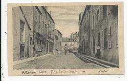 Faulquemont  Carte Allemande - Faulquemont