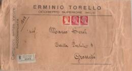 RACCOMANDATA ANNI 30 CENT. 2X20+1,75 CAMPIONI SENZA VALORE (Z1404 - 1900-44 Vittorio Emanuele III