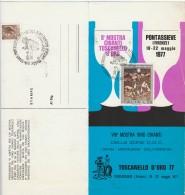 FOLDER 1977 CON FRANCOBOLLI FDC MOSTRA VINICOLA (Z1432 - Paquetes De Presentación