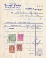 FATTURA CON MARCHE DA BOLLO 1971 (Z1437 - Italia