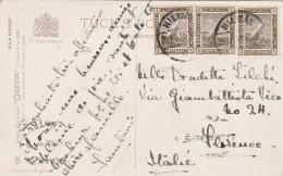 CARTOLINA 1916 DA EGITTO PER FIRENZE - TUCKS (Z1448 - Égypte