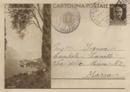 INTERO POSTALE ANNI 30 CENT.30 MALCESINE (VERONA) (Z1472 - 1900-44 Vittorio Emanuele III