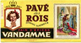 BUVARD(PAIN D EPICES VANDAMME) - Pain D'épices