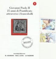 FRANCOBOLLI GIOVANNI PAOLO II GUINEA BENIN (Z1489 - Guinea (1958-...)
