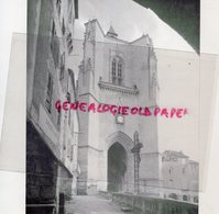 12- VILLEFRANCHE DE ROUERGUE- LA COLLEGIALE NOTRE DAME- PHOTO SUR PAPIER RIGIDE - Documents Historiques
