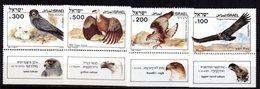 Serie Nº 925/8  Israel - Águilas & Aves De Presa