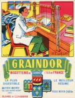 BUVARD(BISCOTTE GRAINDOR) MITRY MORY - Biscottes