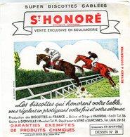 BUVARD(BISCOTTE SAINT HONORE) DONVILLE(HIPPISME) - Biscottes